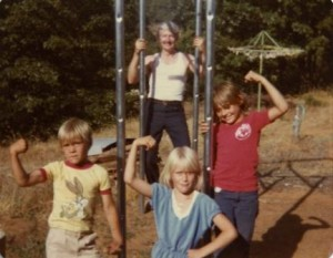 A swingset project from earlier days.....