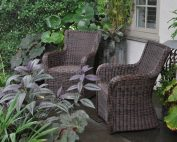 shade, seats, chanticleer, patio