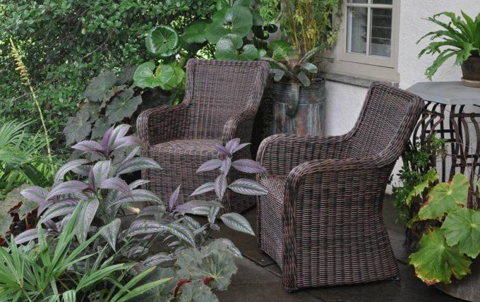 shade, seats, chanticleer, patio