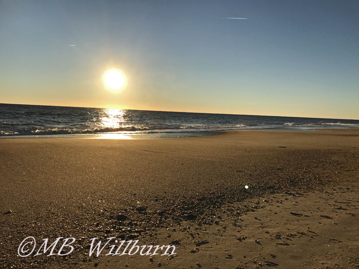 sunrise, beach, cape henlopen, delaware beaches