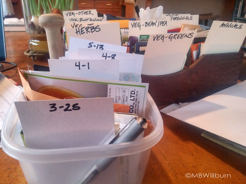 seed swaps, sorting seeds