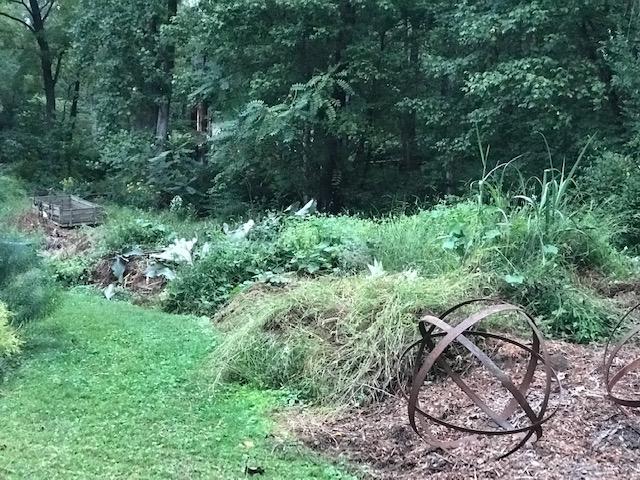 hugelkultur, cold compost, serpentine bed