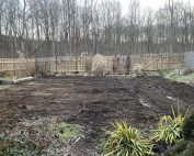 flattened garden
