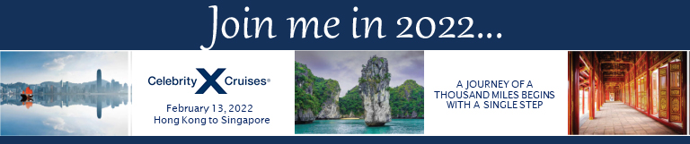 Hong Kong to Singapore Cruise 2022